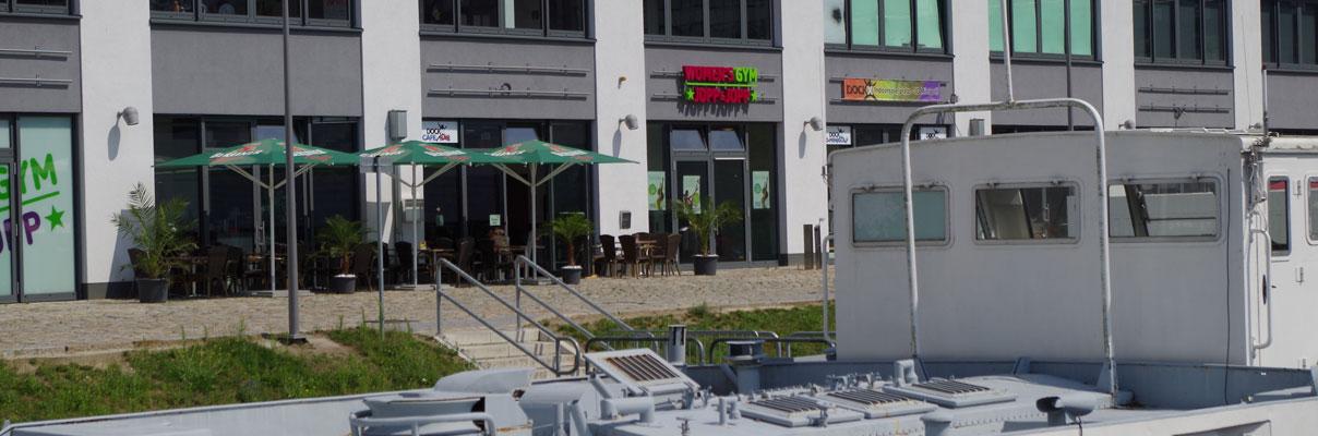 Tempelhofer Hafen Dockx Freizeicenter