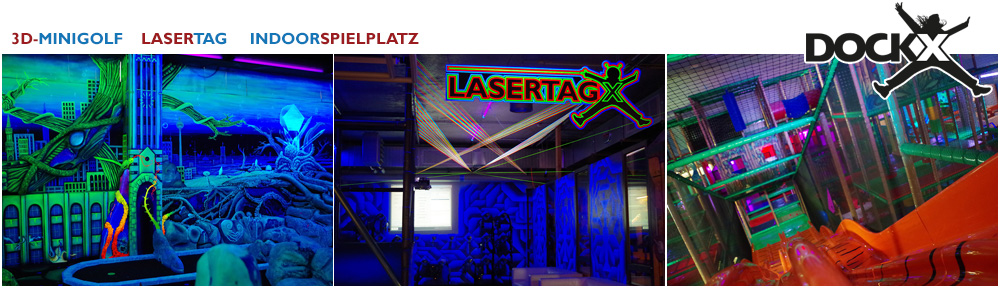 dockx berlin lasertag 3d schwarzlicht minigolf indoorspielplatz. Black Bedroom Furniture Sets. Home Design Ideas
